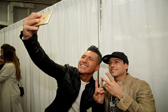 Los selfies de Festival, Jorge Bernal, PeeWee
