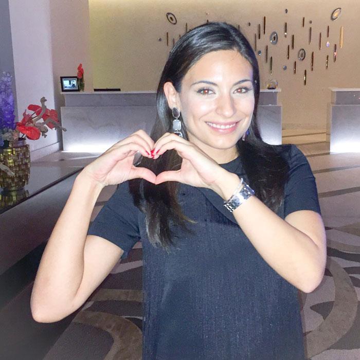 Gala I Love Venezuela, Ana Brenda Contreras