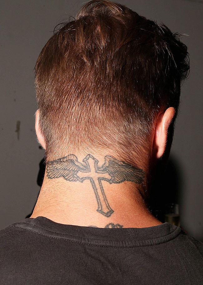 David Beckham, Tatuajes