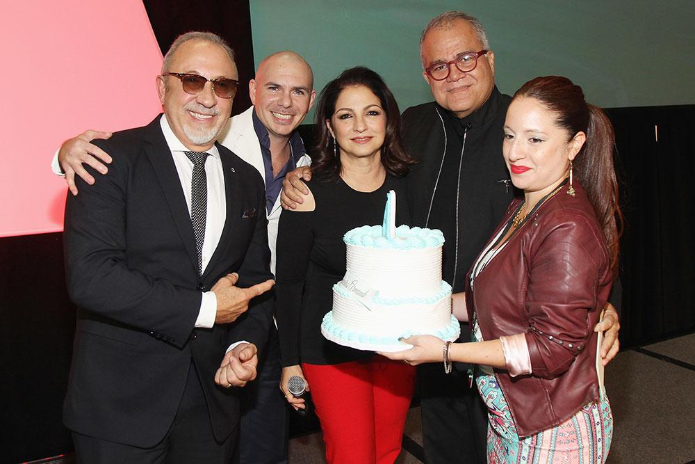 Pitbull, Gloria Estefan, Emilio Estefan, Armando Correa