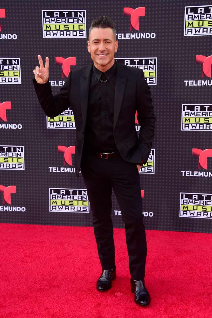Latin American Music Awards 2015, Jorge Bernal