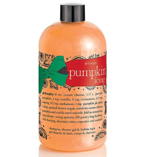 Baño refrescante, productos con pumpkin