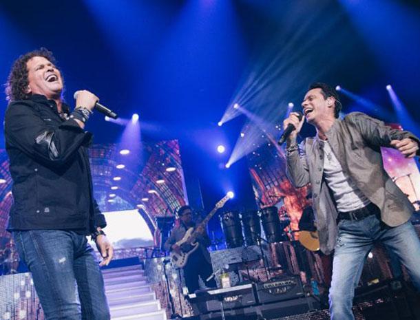 Carlos Vives y Marc Anthony