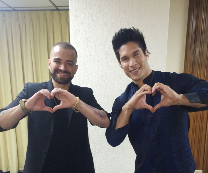 Gala I Love Venezuela, Chino y Nacho