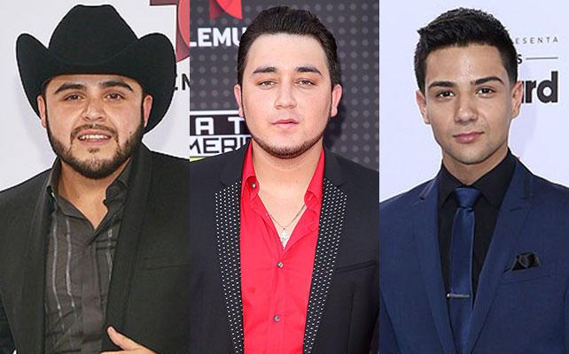 Gerardo Ortiz, Kevin Ortiz y Luis Coronel
