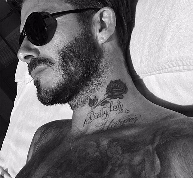 David Beckha, tatuajes