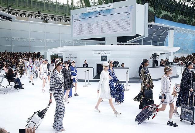 Modelos, desfile Chanel