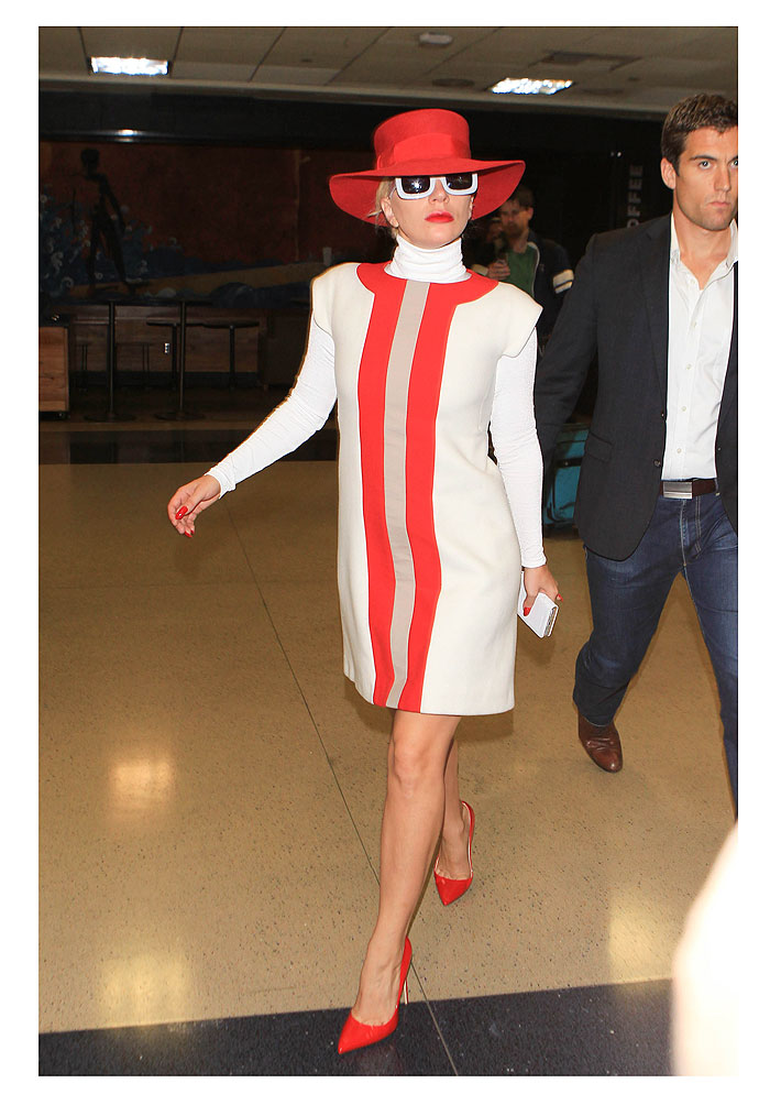 Lady Gaga, look del día