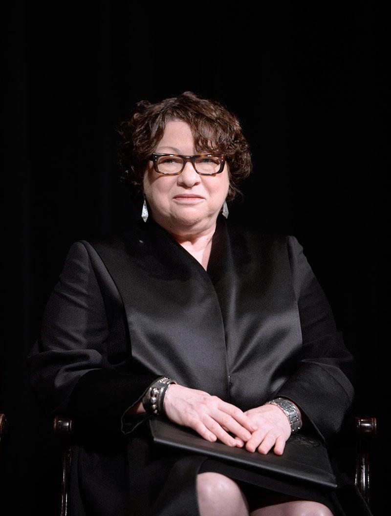 50 más influyentes 2015, Sonia Sotomayor