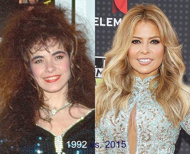 Cambios de look, Gloria Trevi
