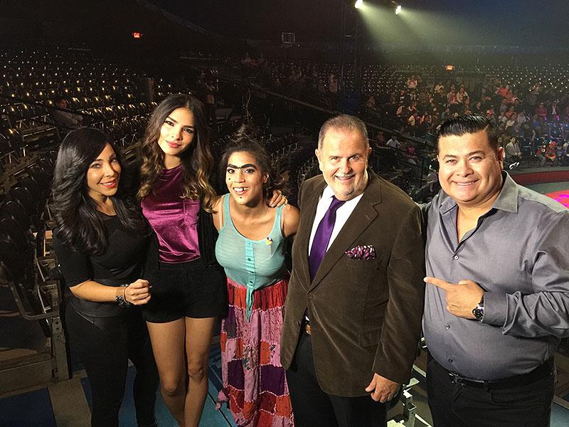 Alejandra Espinoza, Raúl de Molina, Francisca Lachapel