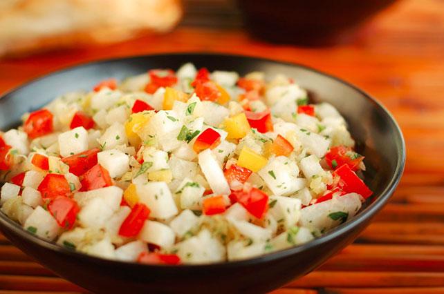 Ensalada de jícama