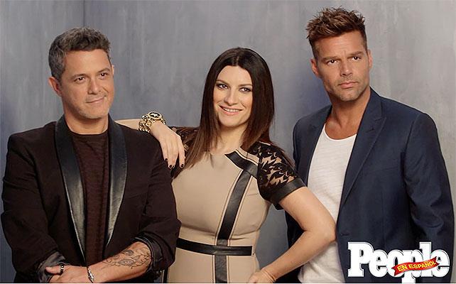Alejandro Sanz, Laura Pausini, Ricky Martin
