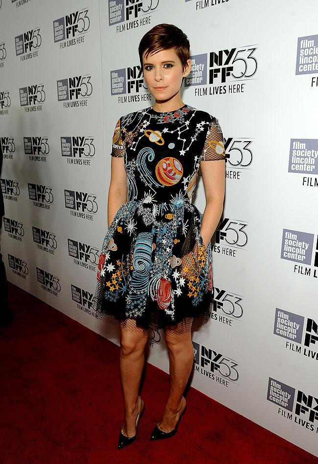 Kate Mara, look del día
