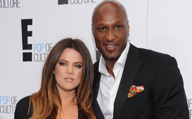 Khloe Kardashian y Lamar para artículo