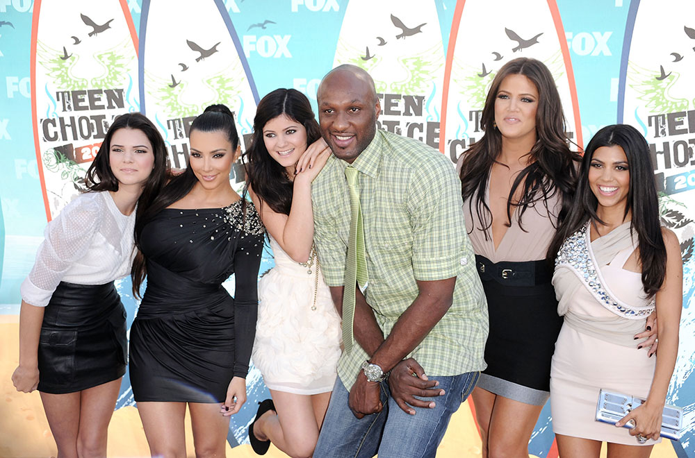 Kendall Jenner, Kim Kardashian, Kylie Jenner, Lamar Odom, Khloe Kardashian, Kourtney Kardashian