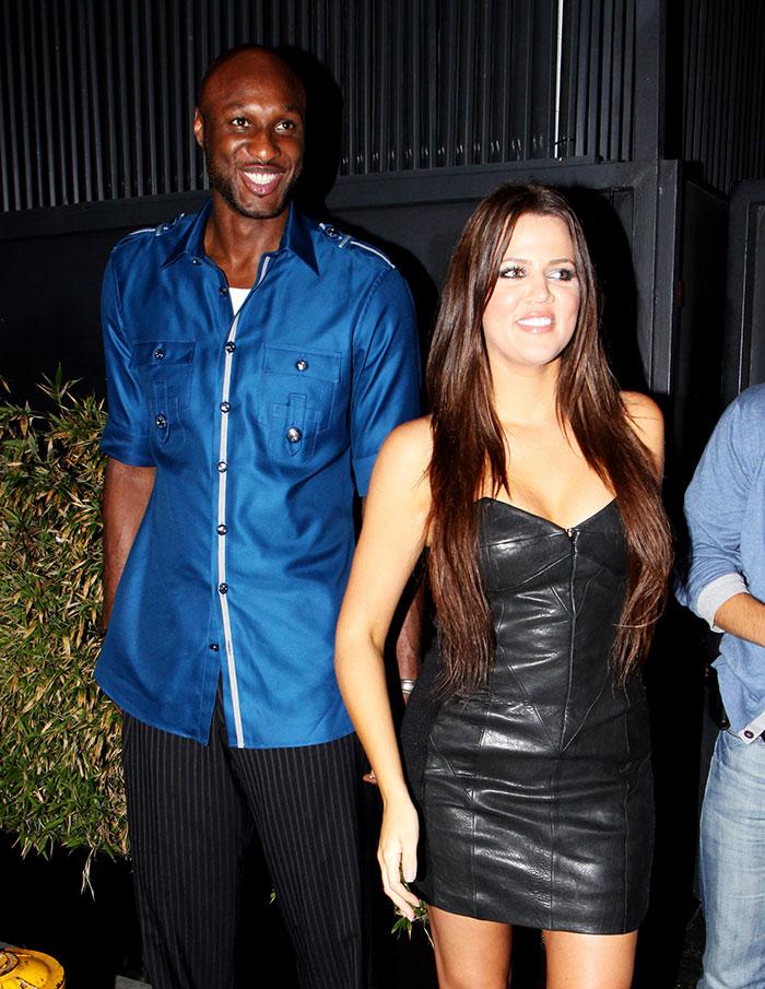 Khloé Kardashian, Lamar odom