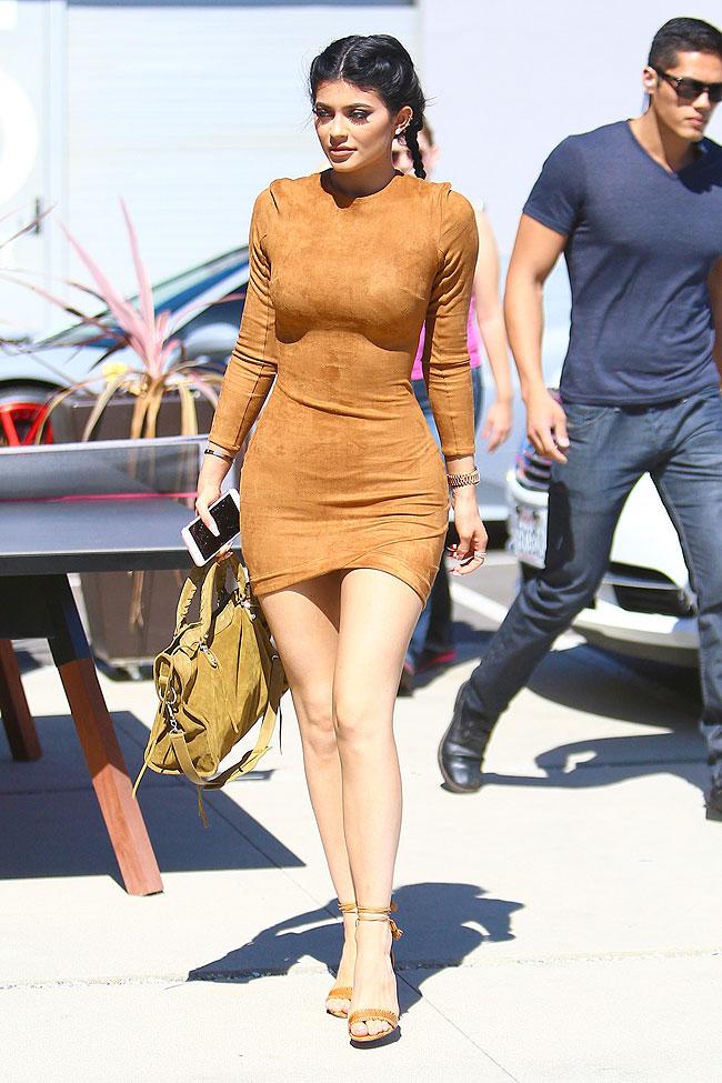 Kylie Jenner, tendencia gamuza