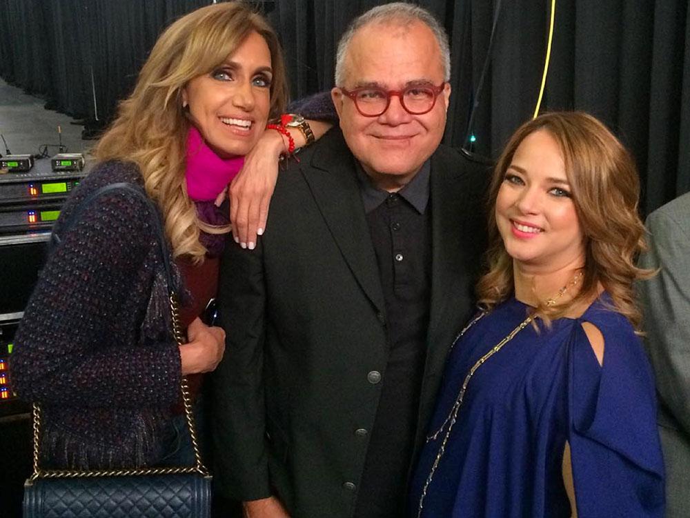 Lili Estefan, Armando Correa, Adamari López
