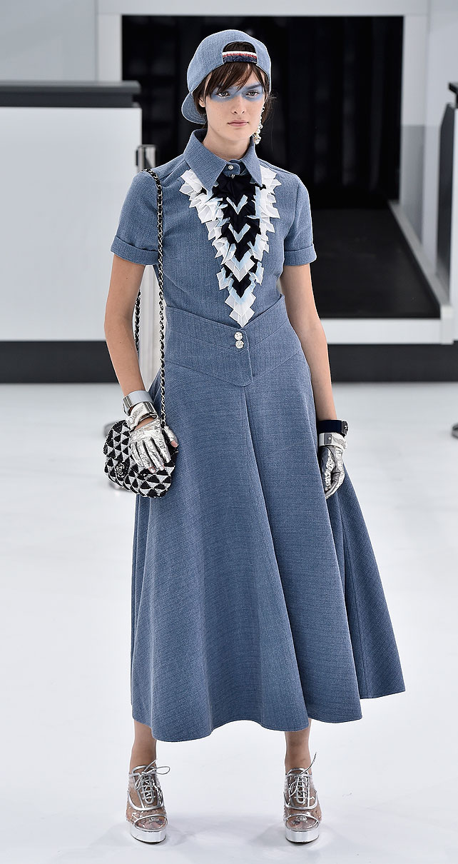 Modelo, desfile Chanel