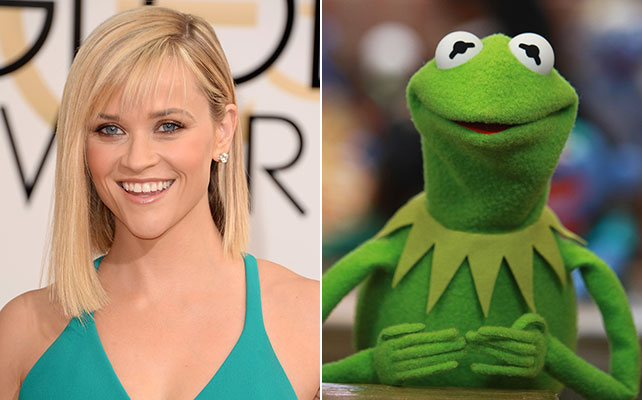 Reese Witherspoon, la rana René