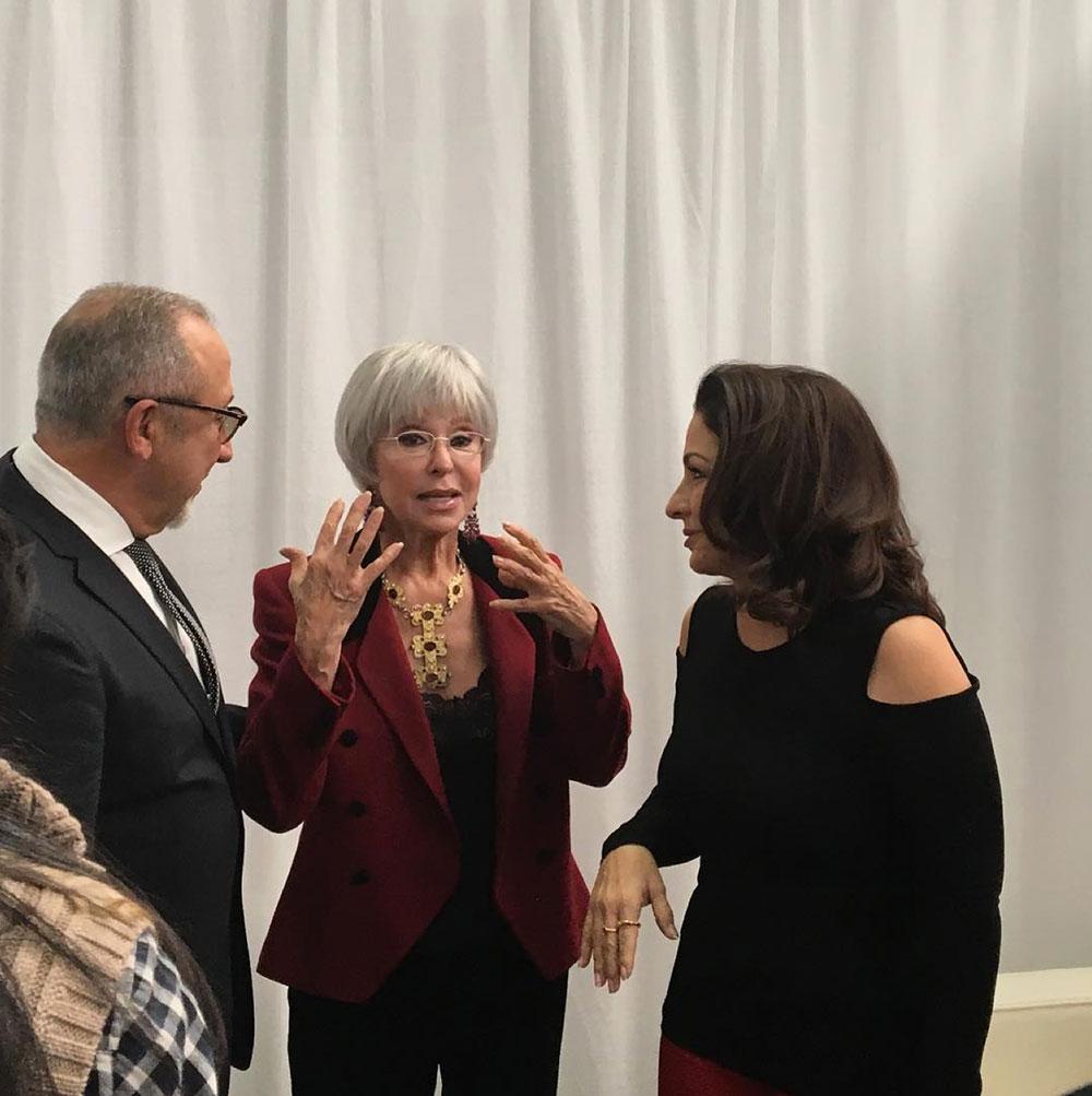Emilio Estefan, Gloria Estefan, Rita Moreno