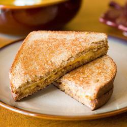 Sándwich de queso derretido