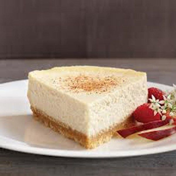 Pastel de queso con rompope