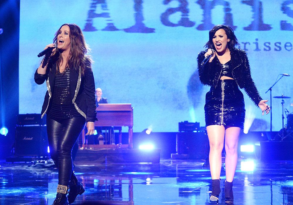 Alanis Morissette, Demi Lovato