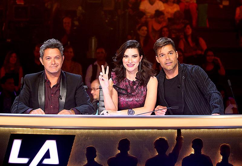 Ricky Martin, Laura Pausini, Alejandro Sanz, Míralos