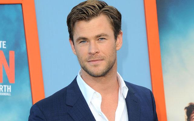 Chris Hemsworth para artículo