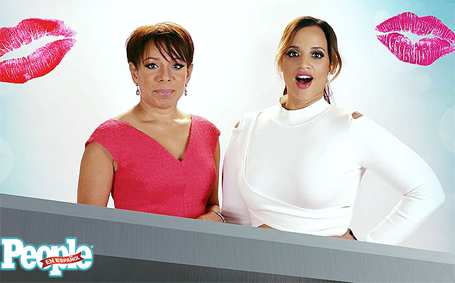 Selenis Leyva y Dacha Polanco