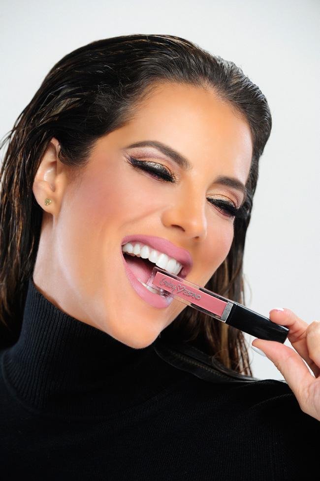 Gaby Espino, pintalabios, lipsticks
