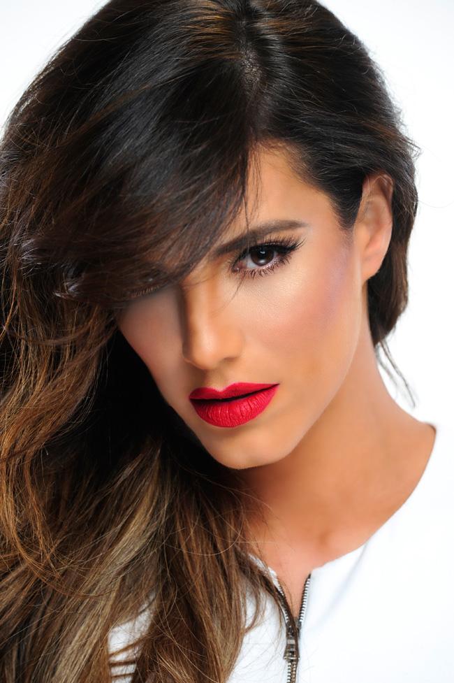 Gaby Espino, pintalabios, lipsticks, belleza