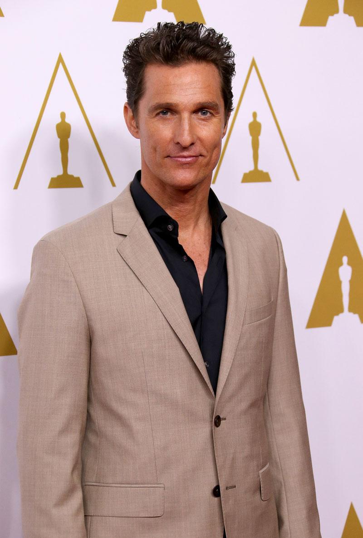 Matthew McConaughey, 10 cosas