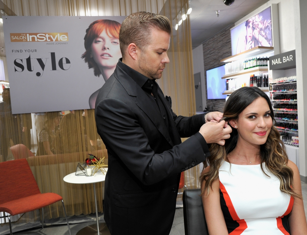 "Odette Annable en ""The Salon By InStyle"""