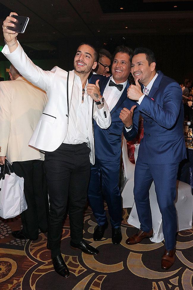 Maluma, Víctor Manuelle, Carlos Vives