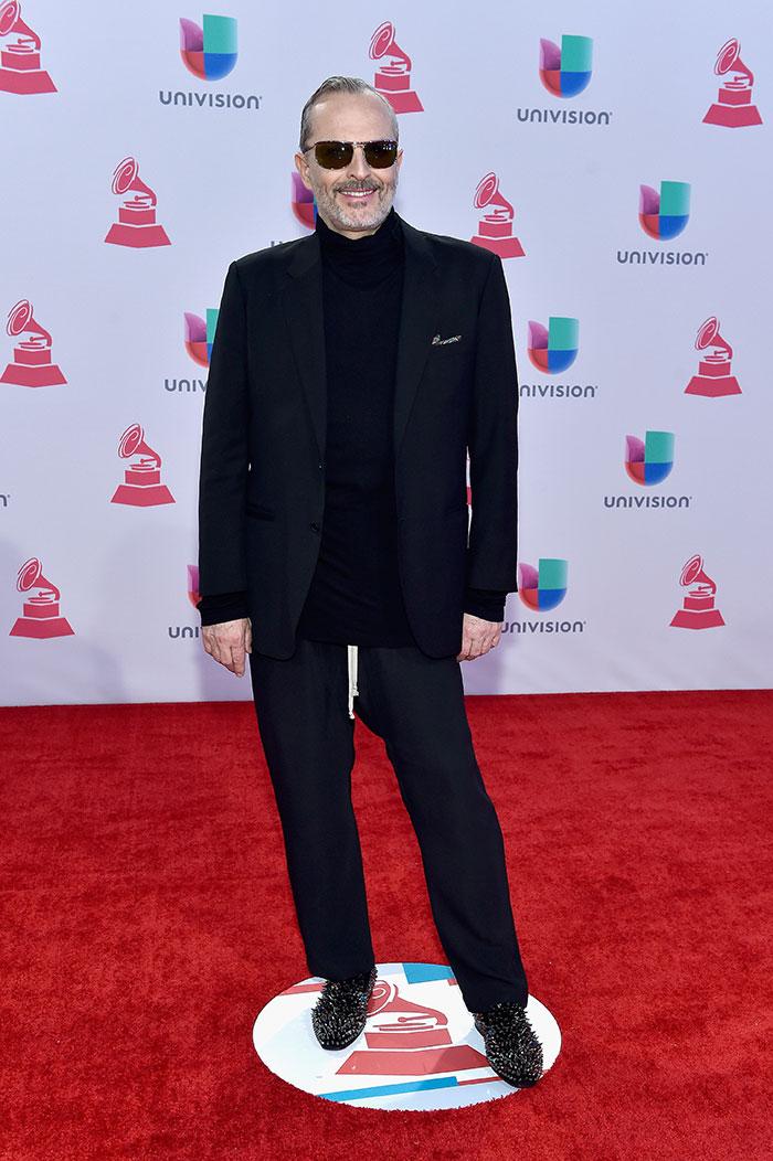 Latin Grammy 2015, Miguel Bosé