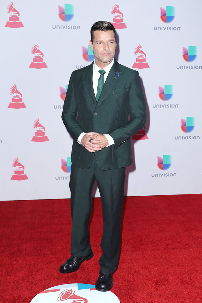Latin Grammy 2015, Ricky Martin