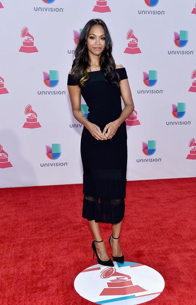 Latin Grammy 2015, ZOË SALDAÑA