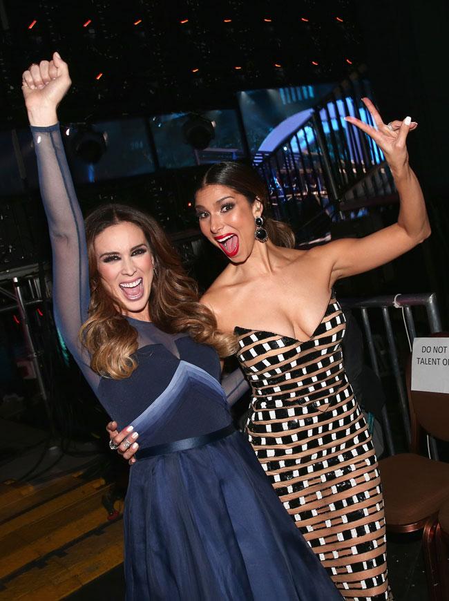 Jacqueline Bracamontes y Roselyn Sánchez