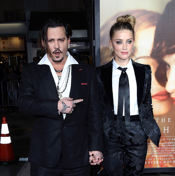 Miralos, Johnny Depp, Amber Heard