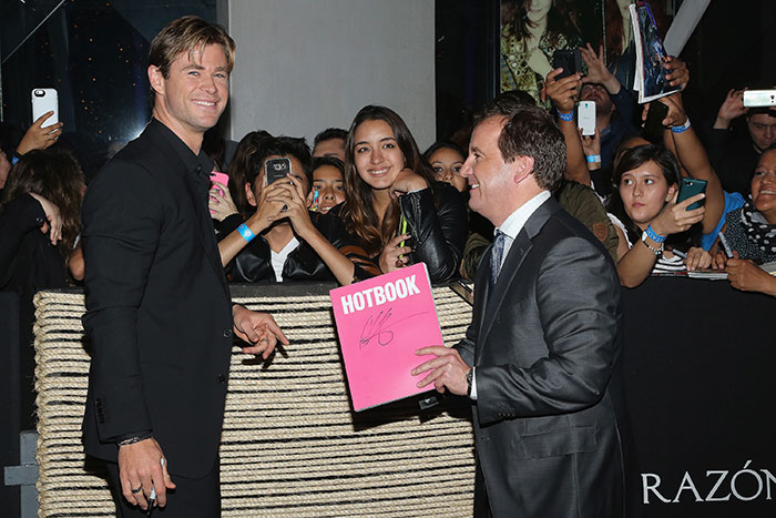 Miralos, Chris Hemsworth