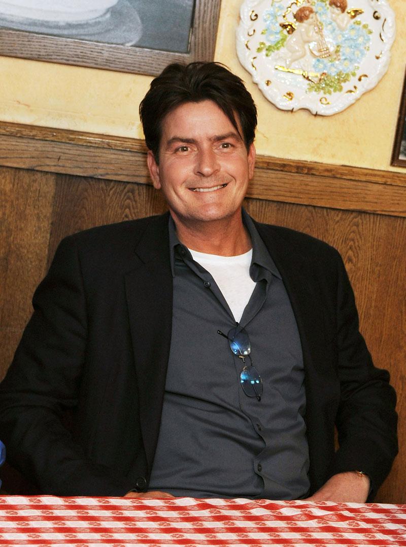 charlie Sheen a través de los años