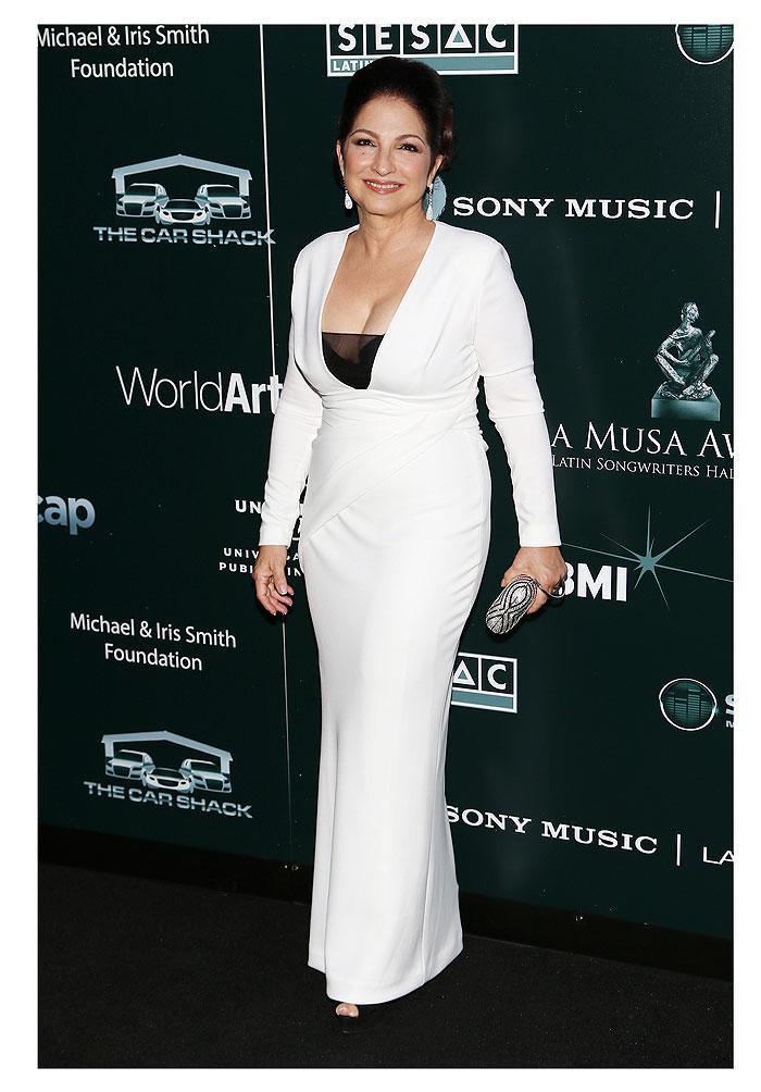 Gloria Estefan, tendencias blanco