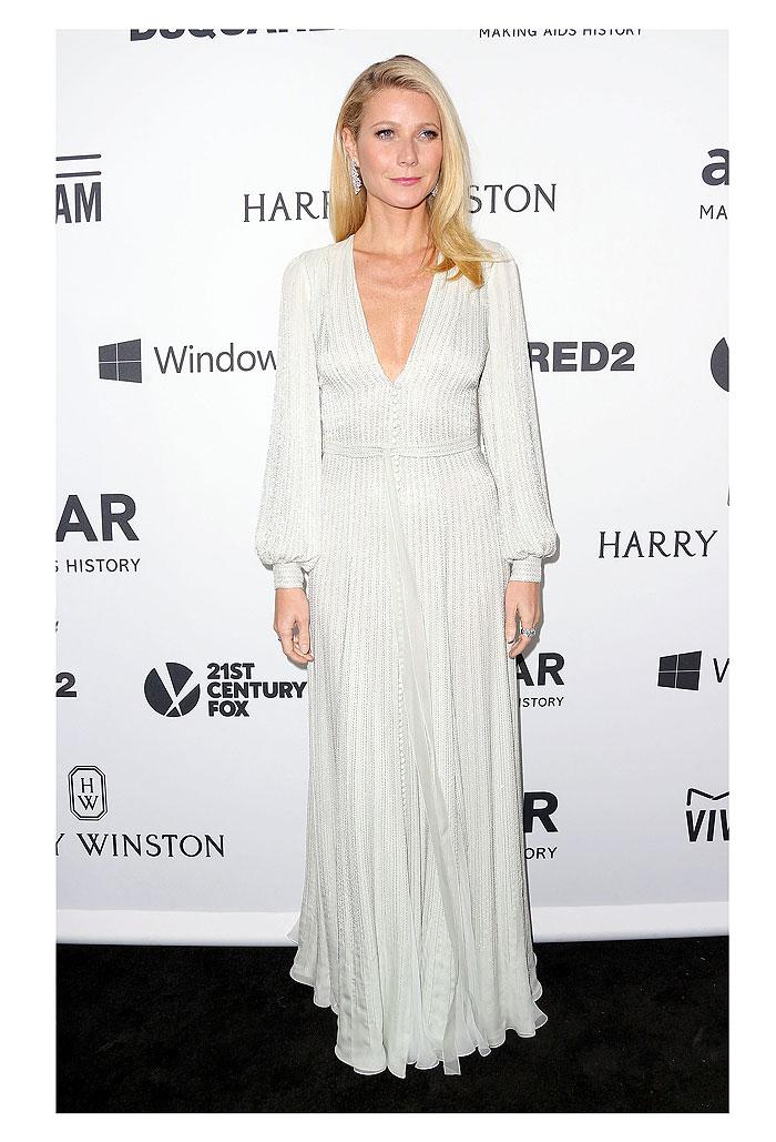 Gwyneth Paltrow, tendencia blanco