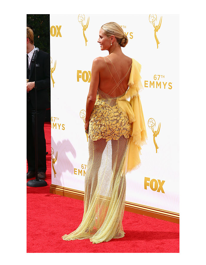 Heidi Klim, tendencia amarillo