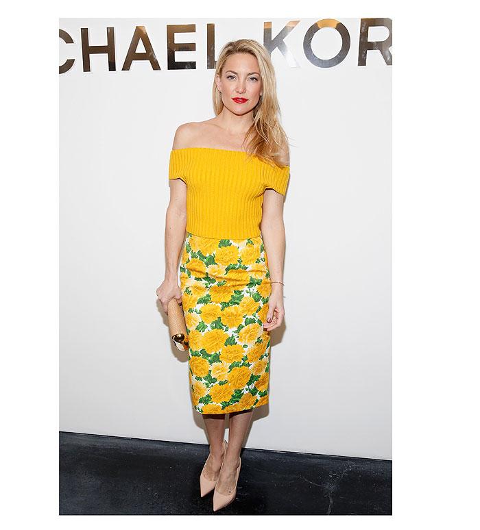 Kate Hudson, tendencia amarillo