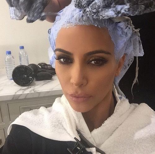 Kim Kardashian, rutina de belleza