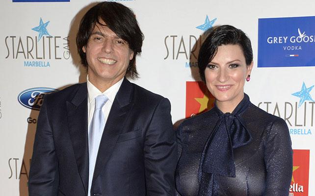 Paolo Carta y Laura Pausini
